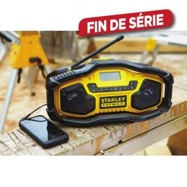 Radio compacte avec Bluetooth FMC770B-QW 18 V STANLEY FATMAX