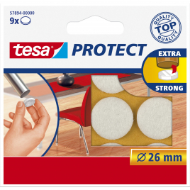 Pastille Extra strong Protect TESA - Blanc