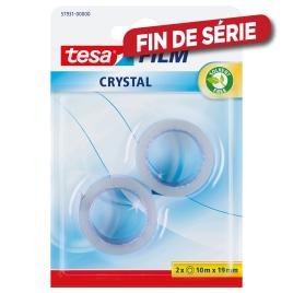 Ruban adhésif Crystal TESA - Par 2 pièces