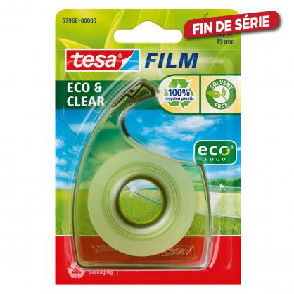 Ruban adhésif eco & clear ecoLogo TESA