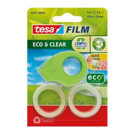 Ruban adhésif Mini dérouleur à la main ecoLogo TESA