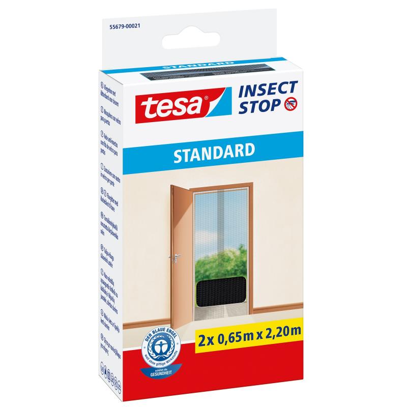 moustiquaire auto agrippant standard pour portes insect stop tesa. Black Bedroom Furniture Sets. Home Design Ideas