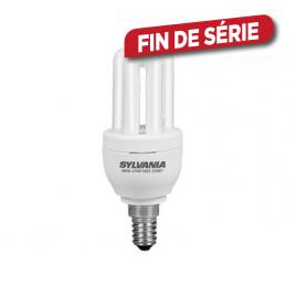 Ampoule compacte fluorescente Mini-Lynx Fast-Start classique SYLVANIA - E14 - 11W