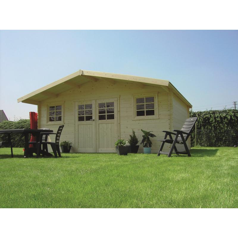 abri de jardin zurich 28 mm 5 08 x 3 88 m solid. Black Bedroom Furniture Sets. Home Design Ideas