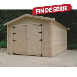 Garage en bois for Garage bois mr bricolage