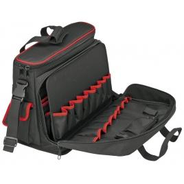 Sacoche à outils et notebook