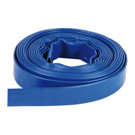 Tuyau d'évacuation PVC plat 10 m SPIDO - 25 mm