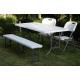 Table pliante rectangulaire 184 x 76 x 74 cm CONMETALL