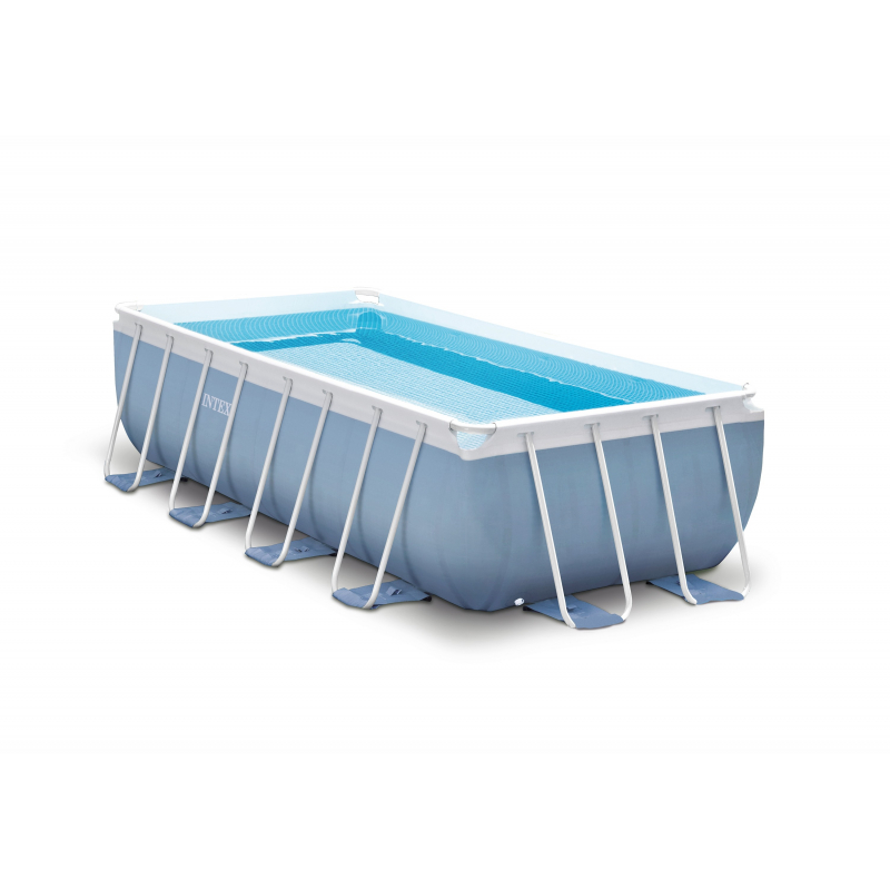 Piscine prism rectangular frame intex - Piscine mr bricolage ...