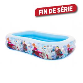 Piscine gonflable Reine des Neiges 262 x 175 x 56 cm INTEX