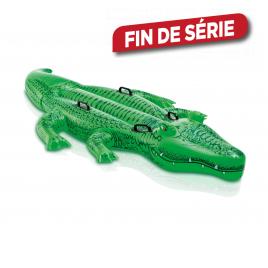 Crocodile gonflable à chevaucher 203 x 114 cm INTEX