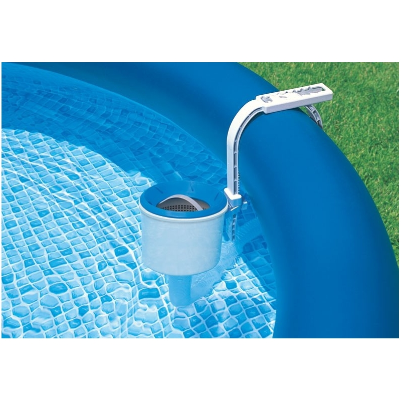 Skimmer de surface deluxe pour piscine intex for Rustine pour piscine intex