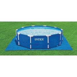 Bâche de sol pour piscine 4,88 x 4,88 m INTEX