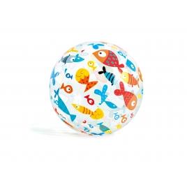 Ballon de plage à motifs 51 cm INTEX