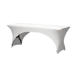 Housse pour table rectangulaire - Blanc