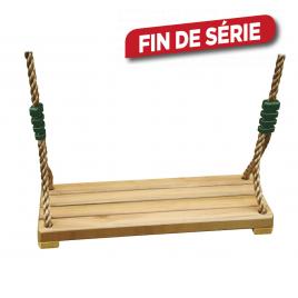 Siège de balançoire en bois Luxe