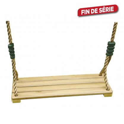 Siège de balançoire en bois