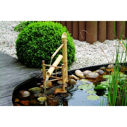 Fontaine pour bassin Bamboo