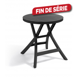 Table de jardin pliante Oregon 70 x 70 x 72 cm ALLIBERT