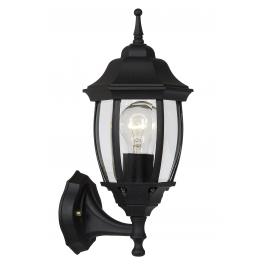 Lanterne d'extérieur Tireno E27 60 W LUCIDE - Noir - Vers le haut