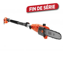 Coupe-branche - 800W - 25 cm + 2ème chaîne - BLACK+DECKER