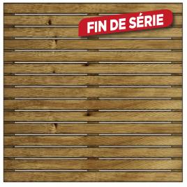 Dalle en bois Barcelona autoclave SOLID - 50 x 50 x 4 cm