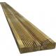 Planche en bois à rainures autoclave SOLID