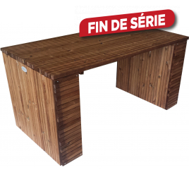 Table de jardin Barcelona 200 x 80 x 78 cm SOLID