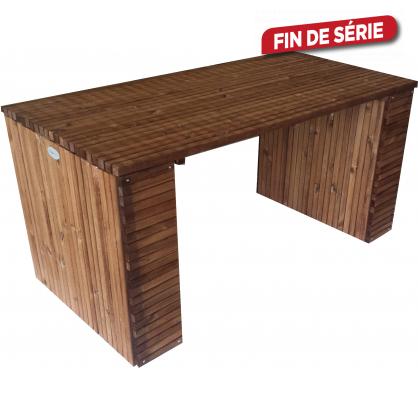 Table de jardin barcelona 200 x 80 x 78 cm solid for Jardin 78