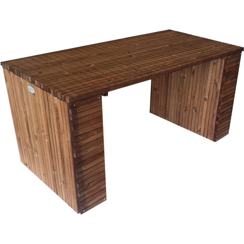 Table de jardin barcelona 200 x 80 x 78 cm solid for Jardin de 78