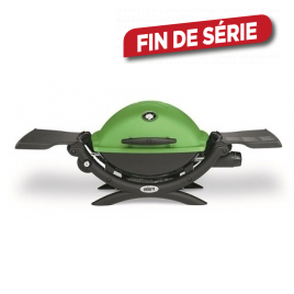 Barbecue au gaz Q 1200 WEBER - Vert