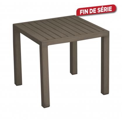 Table de jardin basse Lou 40 x 40 cm