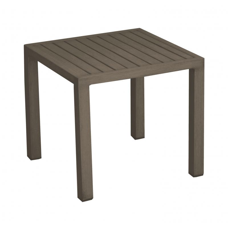 magasin en ligne 66423 25e57 Table de jardin basse Lou 40 x 40 cm - Mr.Bricolage