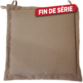 Galette coussin déperlant - Taupe