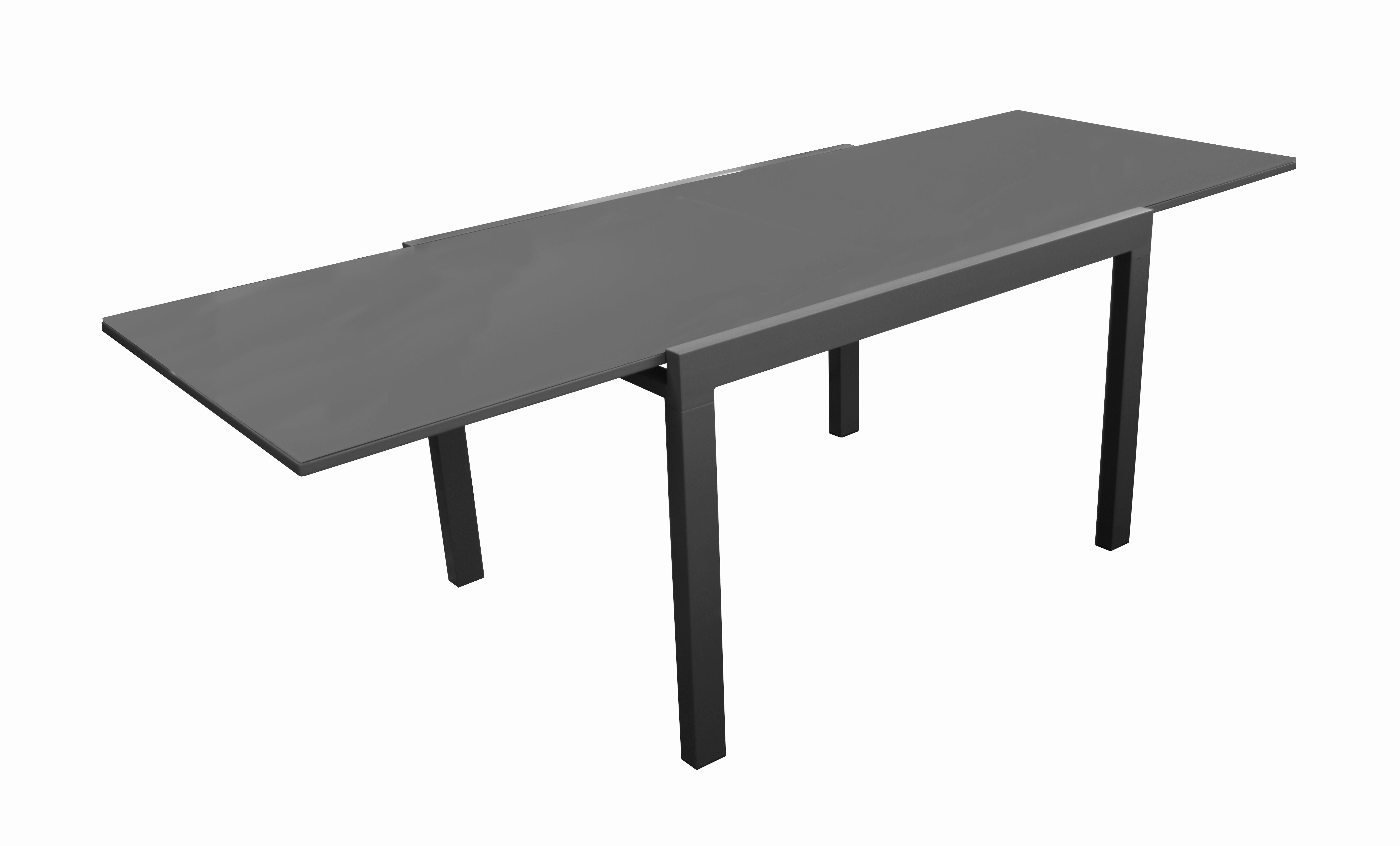 Table de jardin extensible Elyse 200-300 x 100 cm