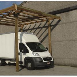 Carport de base à configurer 4 x 5 x 4 m SOLID