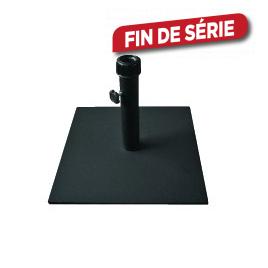 Pied de parasol carré métal 15 kg