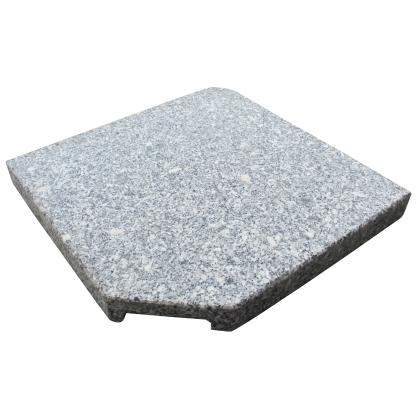 Pied de parasol carrée Granite 25 Kg
