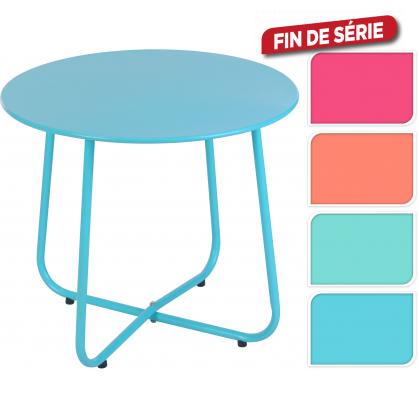 Table de jardin en m tal 50 cm - Table de jardin metal mr bricolage ...