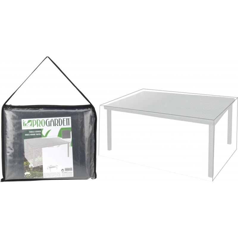 Housse de protection pour table de jardin 165 x 115 x 80 cm