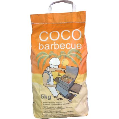 Briquette de coco pour barbecue