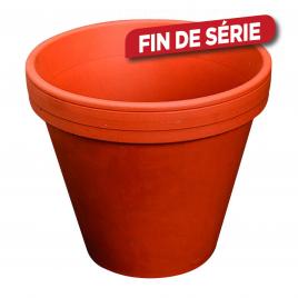 Pot à fleurs en terre cuite - ø 11 cm - H : 10 cm
