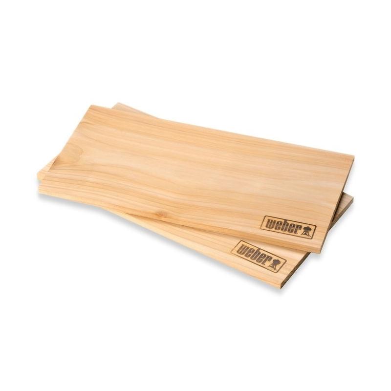 Planche De Bois Mr Bricolage - Plancheà fumer en c u00e8dre WEBER