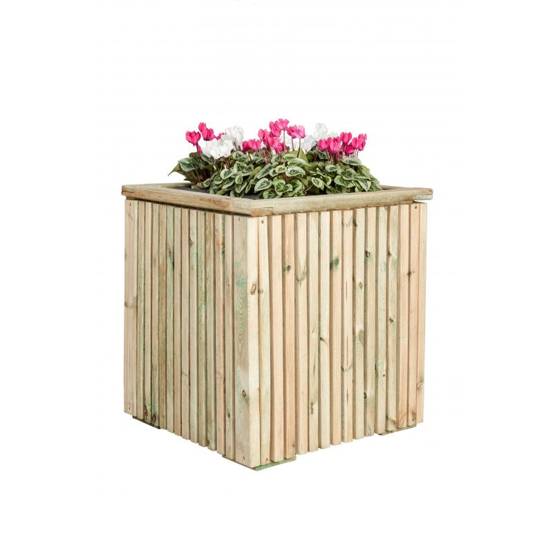 bac fleur en bois cartri. Black Bedroom Furniture Sets. Home Design Ideas
