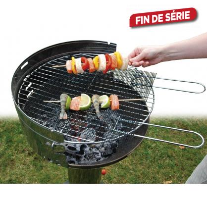 Grille de cuisson de 32 x 32 cm pour barbecue - Grille de cuisson pour barbecue ...