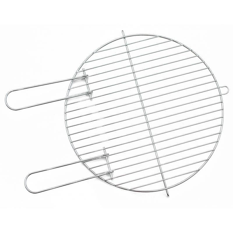 Grille de cuisson ronde de 40 cm pour barbecue - Grille de barbecue ronde ...