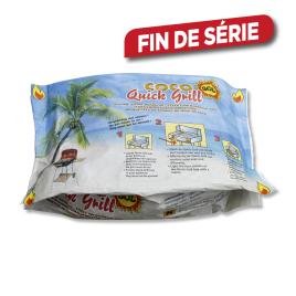 Briquette de coco Quickgrill 1,4 kg