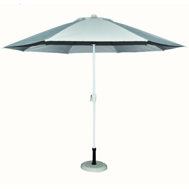 parasol droit avec manivelle 300 cm. Black Bedroom Furniture Sets. Home Design Ideas