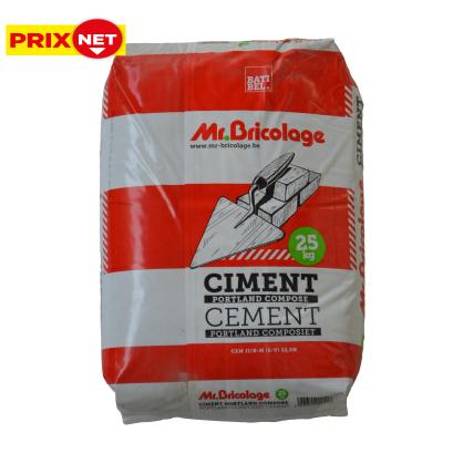 Ciment multi-usages à durcissement rapide CEM II/B-M 32,5 - 25 Kg - PROCEM