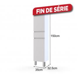 Colonne Ready haute 35 cm AURLANE - Blanc